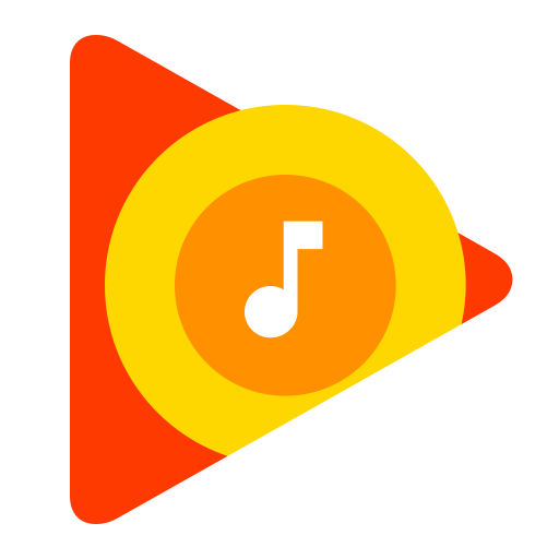 Google Play Music icon logo